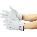 Sleeveless Leather Gloves Crest Cowhide