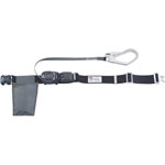 Winding Type Safety Belt (with Single Action Buckle, Small Capacity Type)