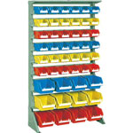 Single Sided Heavy Duty Container Rack (Floor Type), Height 1565 mm