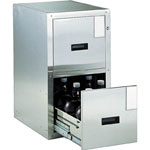 Aseismic Chemical Cabinet, Stainless Steel, Cabinet Type Frontage 455 mm