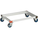 Aluminum Dolly with Air Casters