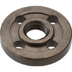 Standard lock nut for disc grinder (dual purpose type)