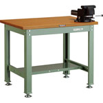 Medium Duty Workbench, with Rotary Anvil Vise, Uniform Load 1200 kg