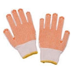 Work Gloves, Warm with Stoppers, 12 Pairs