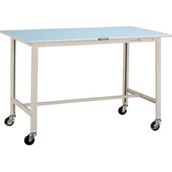 Light Duty Workbench, with Casters Diameter 75 mm, Uniform Load 125 kg