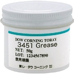 Molykote® 3451 Grease, Heat, Cold, and Chemical Resistant