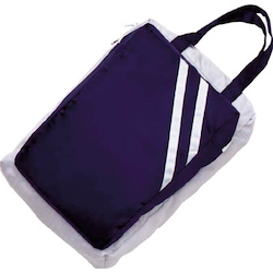 Clean bag, gray/navy blue