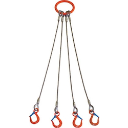 Sling Set (Wire Type) 4 Hanging Wires