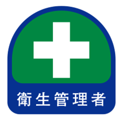 Helmet Stickers, Sanitary Supervisor