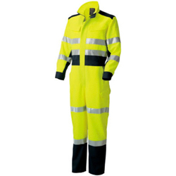 High Visibility Safety Overalls