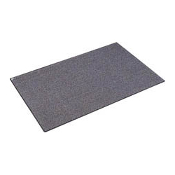 Eco Water Absorbent Mat with Backing Gray