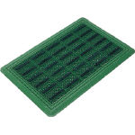 Evac Brush Hard Mat YL (with Shoe Cleaning Holes)