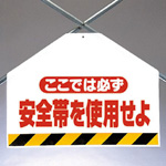 "Single action installation sign bracing sheet ""Wear your Seat Belt"""
