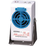 Static Electricity Removal Minifan with Stand F-6ST