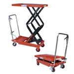 Hydraulic Type Table Cart Load Weight 350 kg