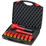 1/2 Inch Insulated Socket and Ratchet 10-Point Set