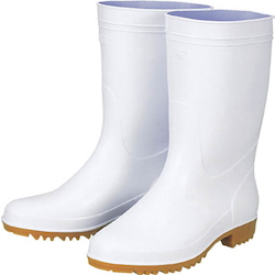 Anti-Bacterial White Sanitation Boots