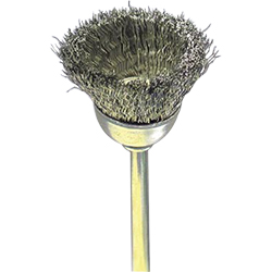 Precision Brush / Stainless Steel, Cup Type
