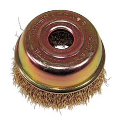 Steel Wire Plated Cup Brush For Air
