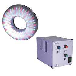 3-Color Switchable Ring Type Light UMD-80RGB series (Controller Set) High Luminosity Direct Ring