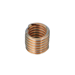Tangless insert metric coarsephosphor bronze