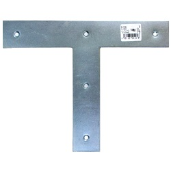 Bright-Chromate Bracket, T-Shaped