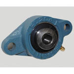 Rhombus Flange Unit, Cylindrical Hole Shape with Set Screw, UCFL Type