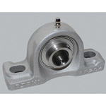 Pillow Block Unit, Aluminum Series Cylindrical Bore Shape with Set Screw, MUCAP Type