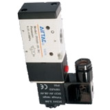 Electromagnetic valve, 3V300 series, 3 ports, 2 positions
