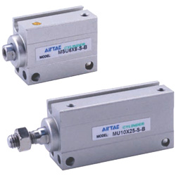 [in-stock item] Mini Free Mount Cylinder MU Series