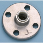 Stainless Steel Pipe-Compatible, Single-Touch Fitting EG Joint Flange Adapter EGFLG/A・EGFLG AEGFLG-15X1/2