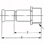 CU Press Bracket for PVC Pipes Fitting for Copper Pipes Used in Building Piping