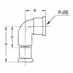 Building Press Piping Copper Tube Fitting CU Press water Faucet Elbow