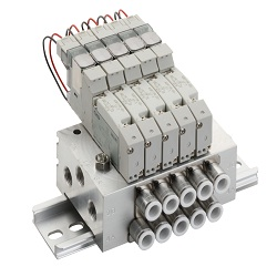 Individual wiring manifold M3GB1· 2/M4GB1-3R-(D) series single unit