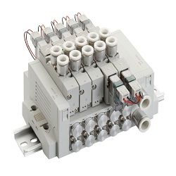 Individual Wiring Block Manifold, MN4GD1, 2R Series Valve Components