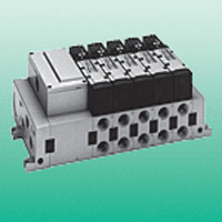 Wire-Saving Block Manifold, M4TB3/4 Series Electromagnetic Valve Unit for Manifold