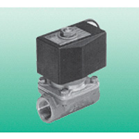Large diameter direct acting type 2-port solenoid valve multilex valve AB71 series