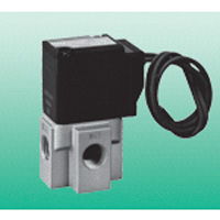 Direct acting 3-port solenoid valve unit for compressed air perfect fit valve FGG series