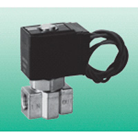 Medium vacuum use direct acting 2 port solenoid valve unit for just fit compressed air valve FVB series