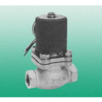 Pilot-operated 2 port valve for steam PKS series