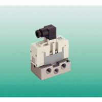 DIN Terminal Box Type, Pilot Type, Five Port Valve, ISO Standard PV5G-6 Series
