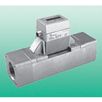 Fluerex Display-Integrated Karman Voltex Type Water Flow Sensor WFK7000 Series