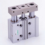 Cylinder with Multifunction Guide, STG-K Series