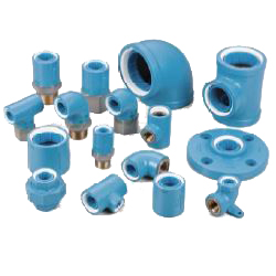 Pre-Sealed Core Fitting, Normal Type, for Connection of Lining Steel Pipes, 10K Mating Flange