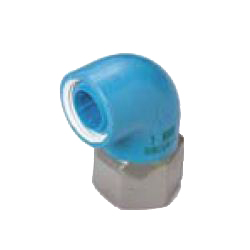 Pre-Sealed Core Fittings, Insulating Type, for Appliance Connection (Dissimilar Metals Contact Prevention-Type Fittings) Z Series, Female Adapter ZF, Elbow