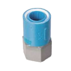 Pre-Seal Core Fitting Insulation Type Z Series Female Adapter Class ZF Reducer Socket (Fitting for Prevention of Contact Between Dissimilar Metals) for Device Connection
