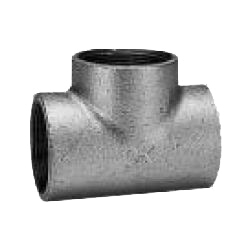 Ck Fitting Threaded Transportable Cast Iron Pipe Fittings T