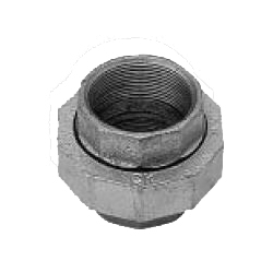 CK Fittings - Screw-in Type Malleable Cast Iron Pipe Fitting - Union