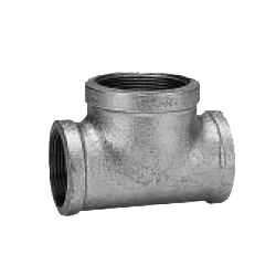 CK Fittings - Screw-in Type Malleable Cast Iron Pipe Fitting - T with Different Diameters (Those with Large Branch Diameter and Different Ventilation)