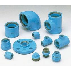 Core Fitting, for Lined Steel Pipe Connection, Elbow